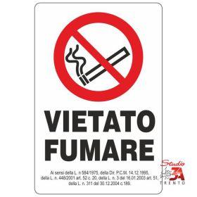VF08 - vietato fumare