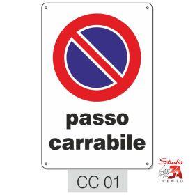 CC01 - Passo carrabile in pvc