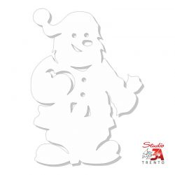 Stickers babbo natale