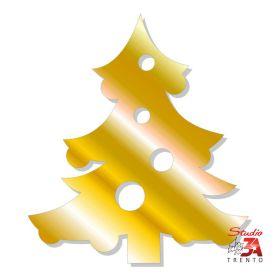 Stickers albero oro metallico