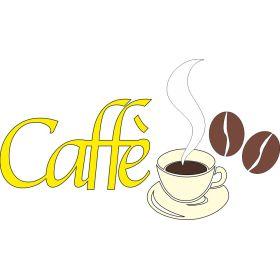 Vetrofania caffè