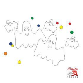 Vetrofania Fantasmi