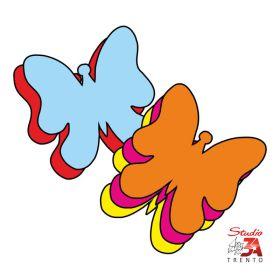 Stickers adesivi mini farfalle