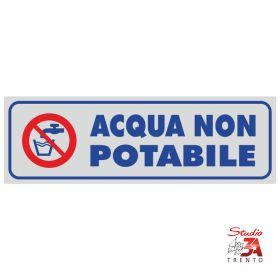 PV551 - Acqua non potabile
