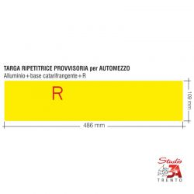 TR/AU - Targa provvisoria...
