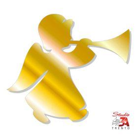Angelo con tromba oro - 5...