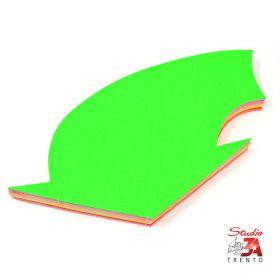 cartelli segnaprezzi grandi Freccia curva