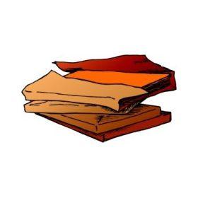 Risma di cartoncino fluorescente 50x70 arancio