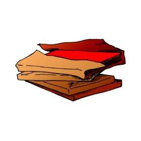 Risma di cartoncino fluorescente 50x70 rosso